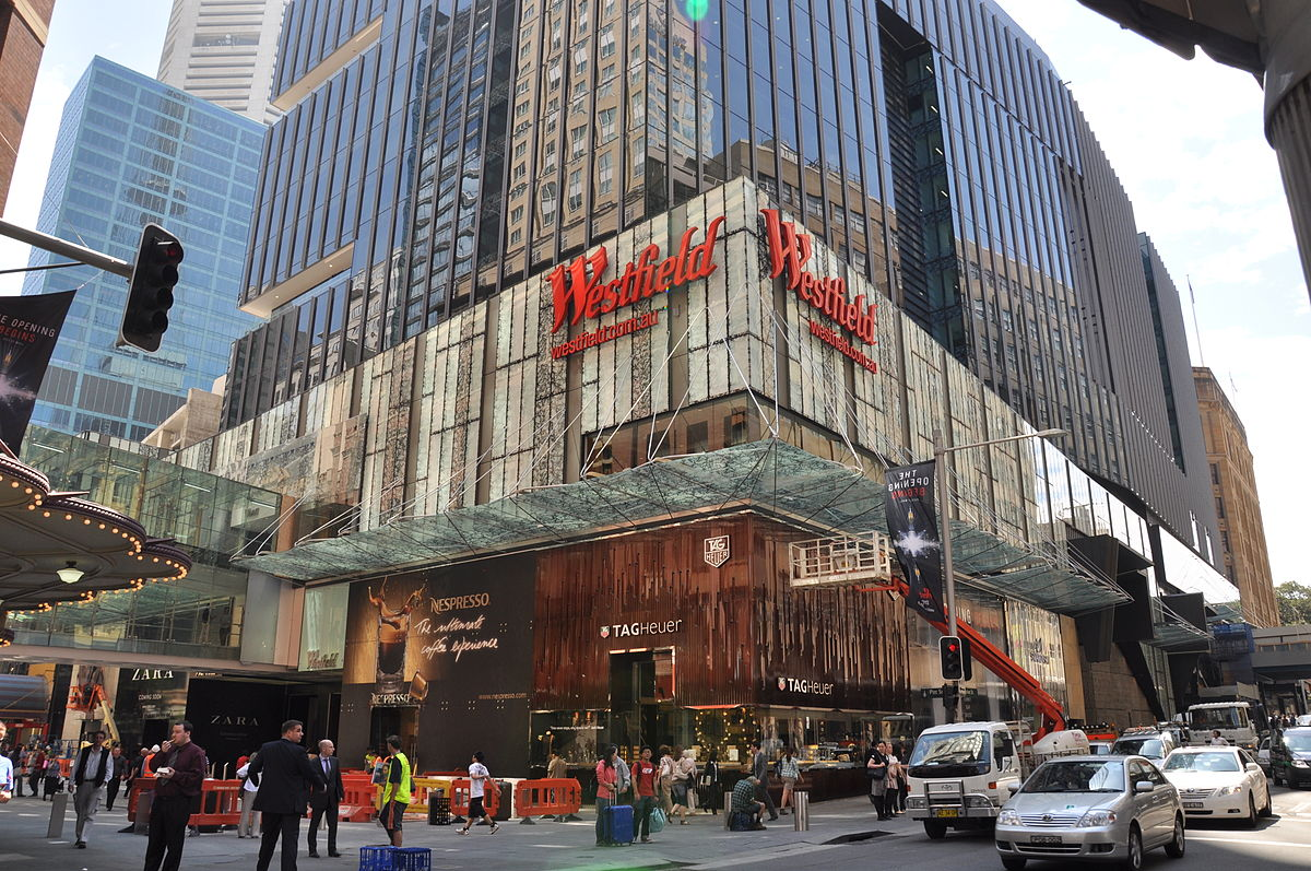 westfield mall acquisition article