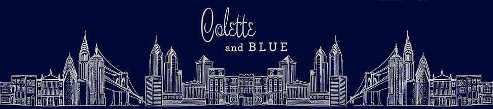 Colette and Blue