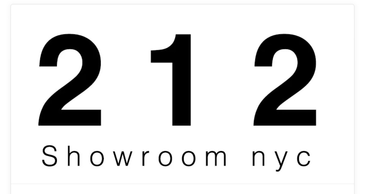212 Showroom NYC